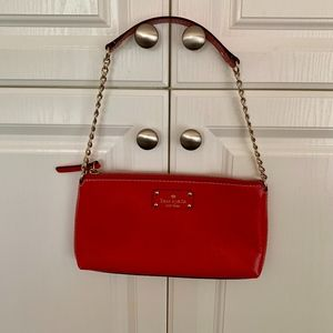 Beautiful Kate Spade Red Clutch.